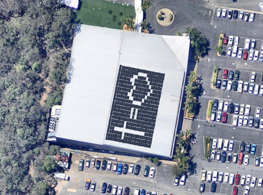 Cross = Love100kW Solar System Mount Gravatt Brisbane Campus.png